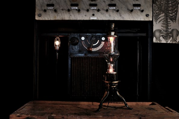 THE CONTEMPORARY STEAMPUNK CABINET all rights reserved Photo by MONCADA anatomy of machinery