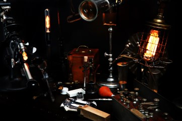 THE CONTEMPORARY STEAMPUNK CABINET all rights reserved Photo by MONCADA scientific dept 1st floor R